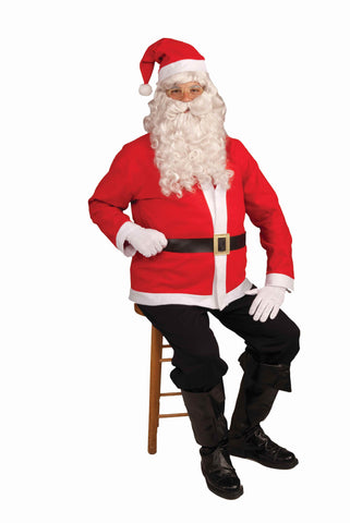 Economy Santa Claus Suit Adult