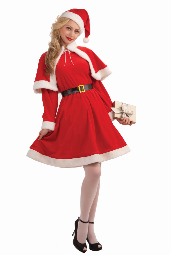 Ladies Miss Santa Claus Holiday Costume
