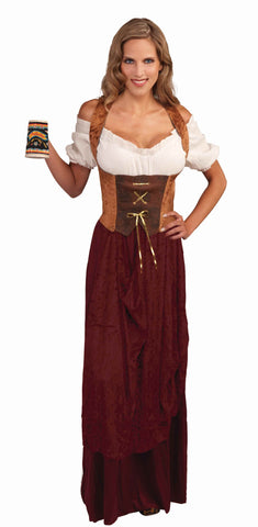 Pirate Corsets Pirate Woman Corset Top Brown