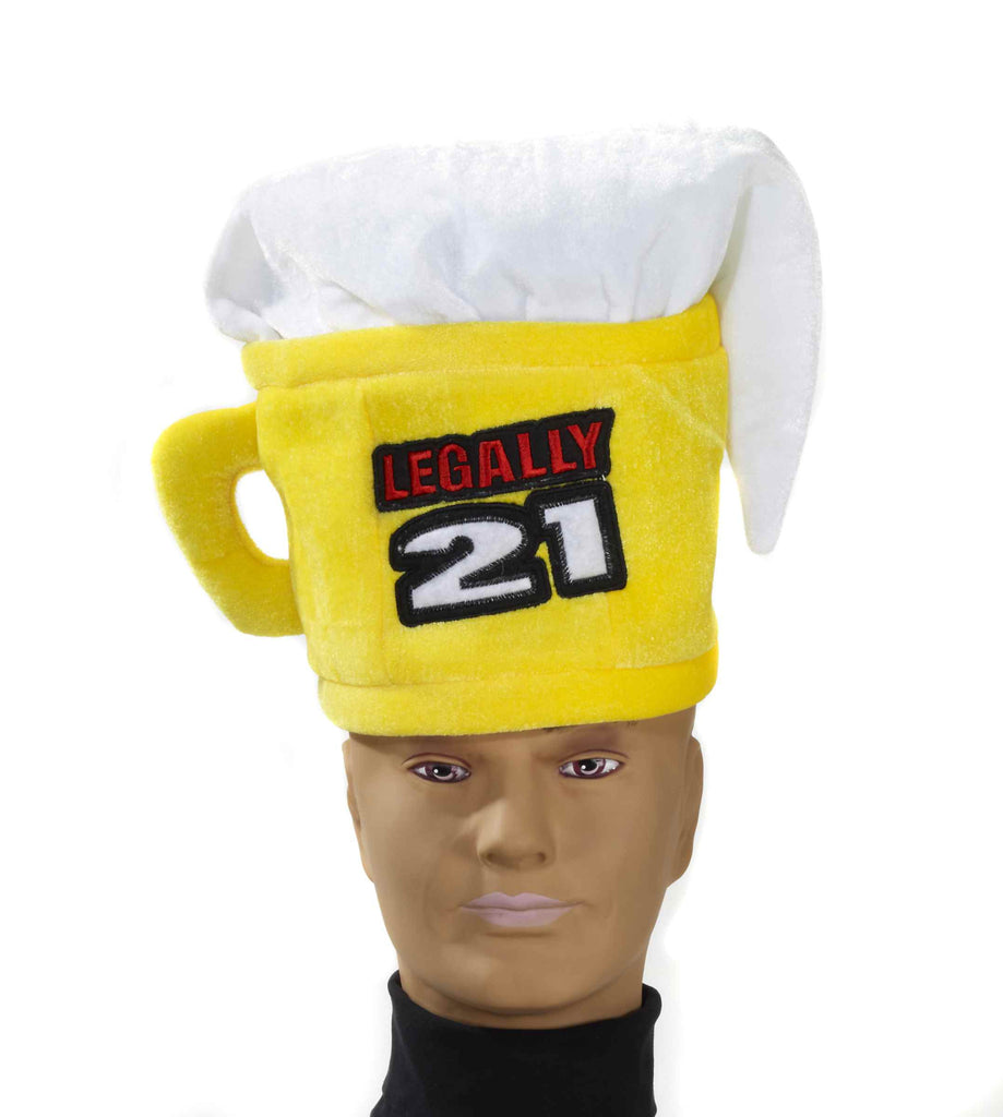 Legally 21 Beer Mug Hat