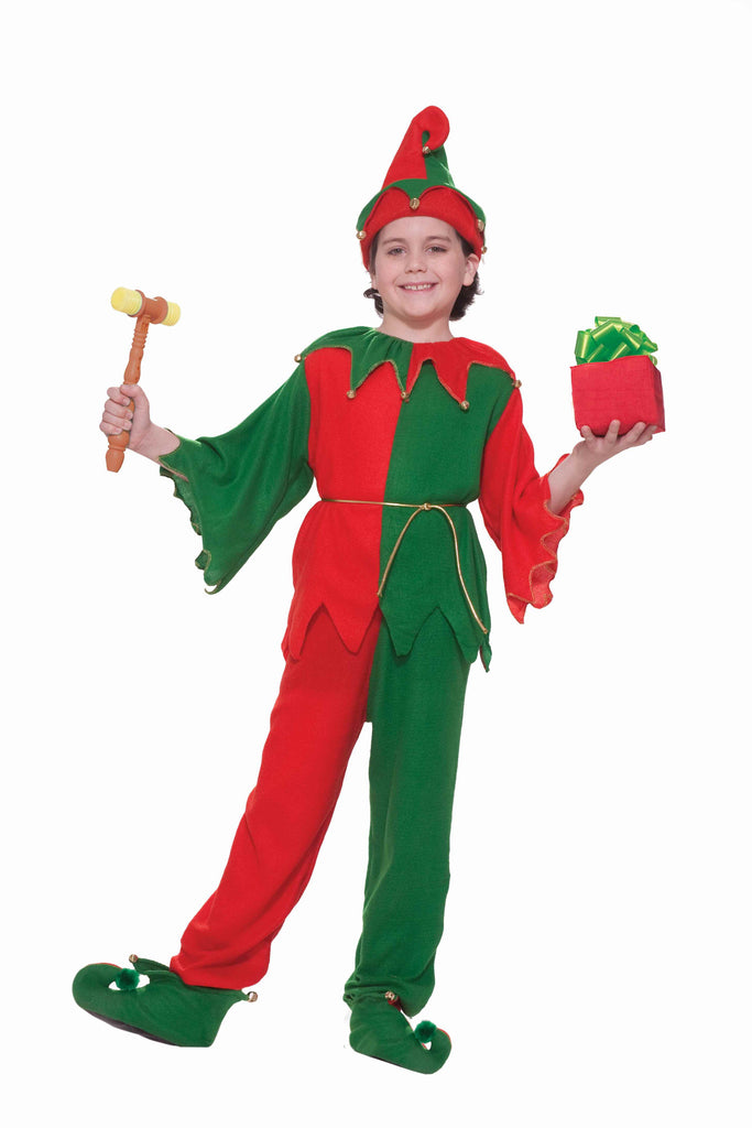 Deluxe Child's Christmas Elf Costumes