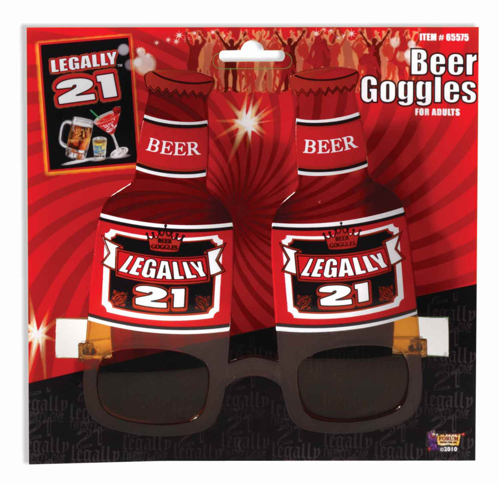 Legally 21 Beer Bottle Goggles
