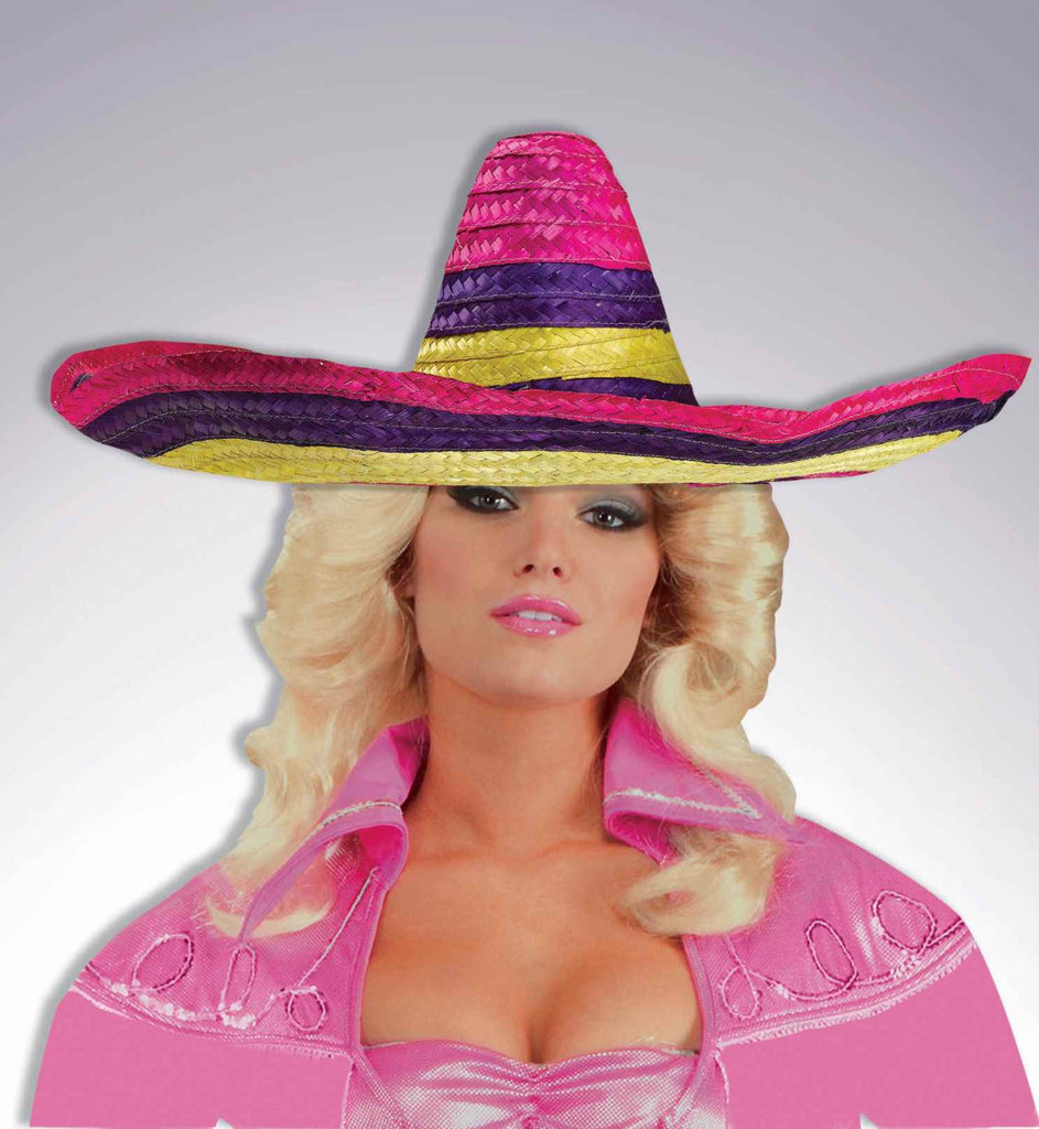 Costume Sombrero Colorful Sombrero