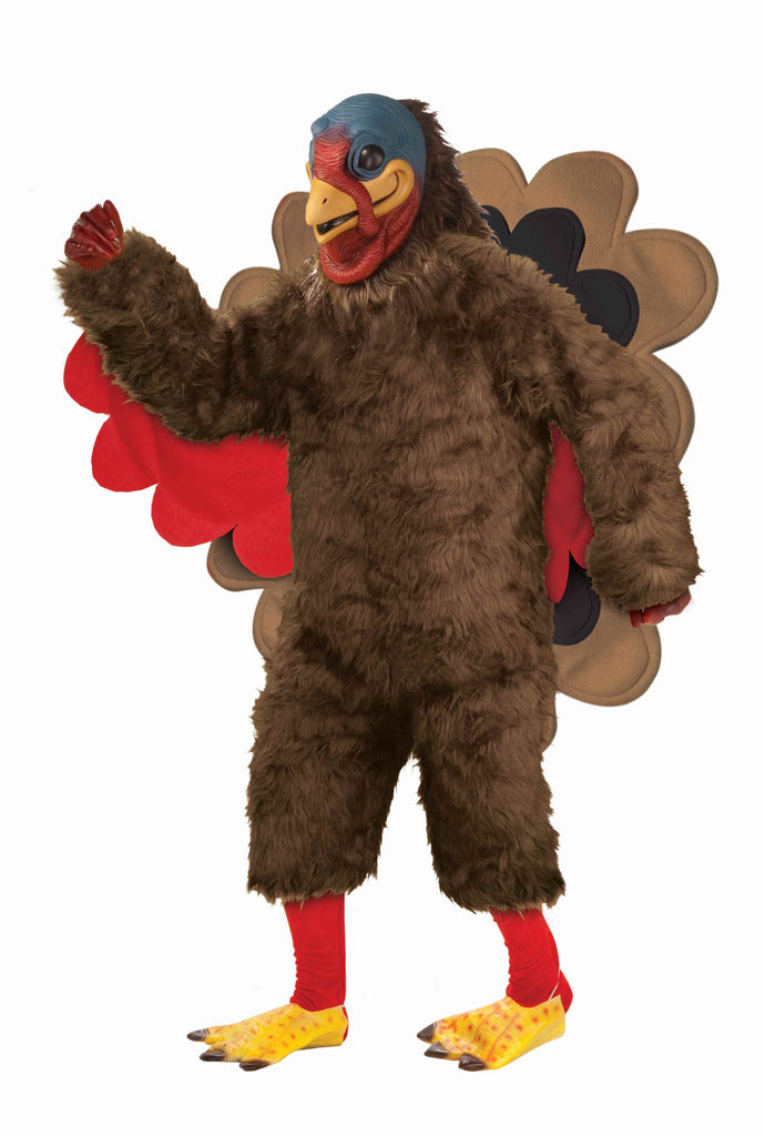 Deluxe Thanksgiving Turkey Costume Adult