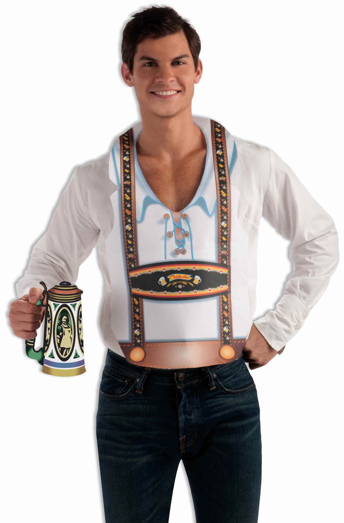 Guy's Oktoberfest Costume Vests