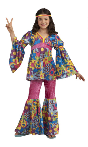 Flower Child Halloween Costume for Girls