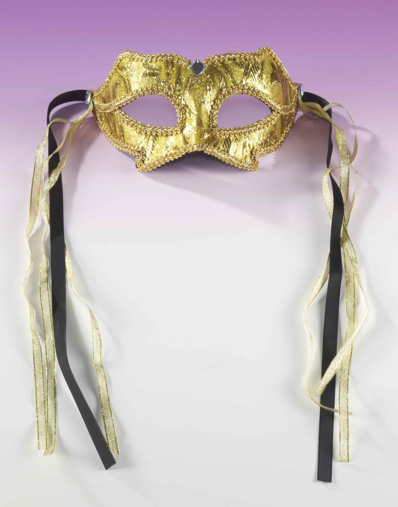 Gold Masquerade Eye Masks