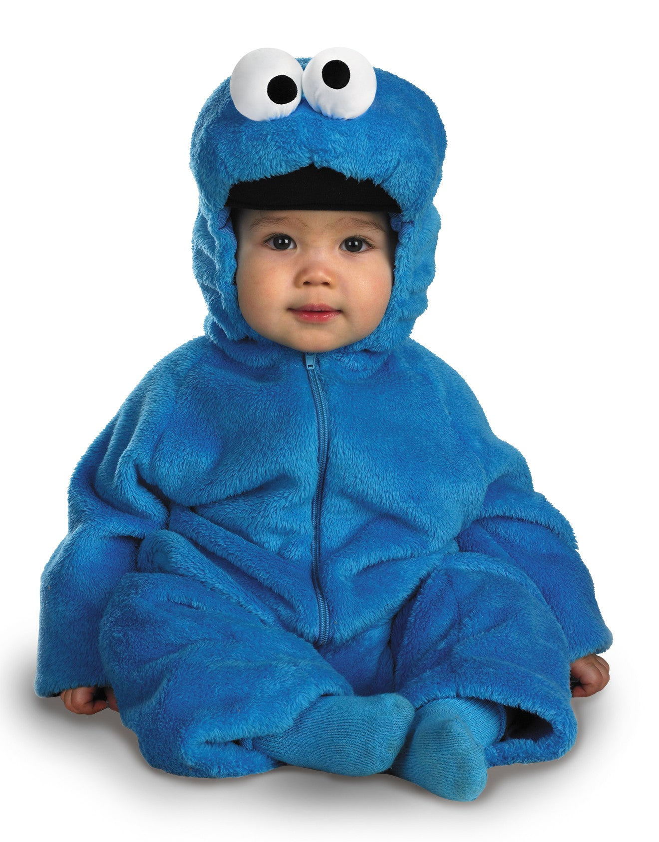 Boys Sesame Street Cookie Monster Costume