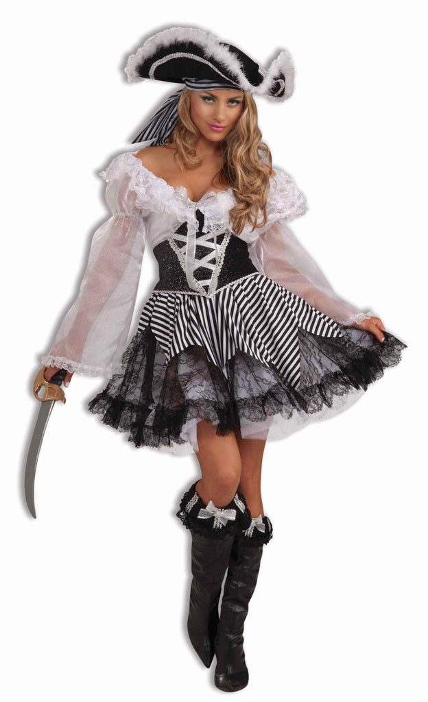 Deluxe Halloween Pirate Lady Costumes