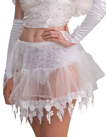 Sheer Crinoline Angel Skirt