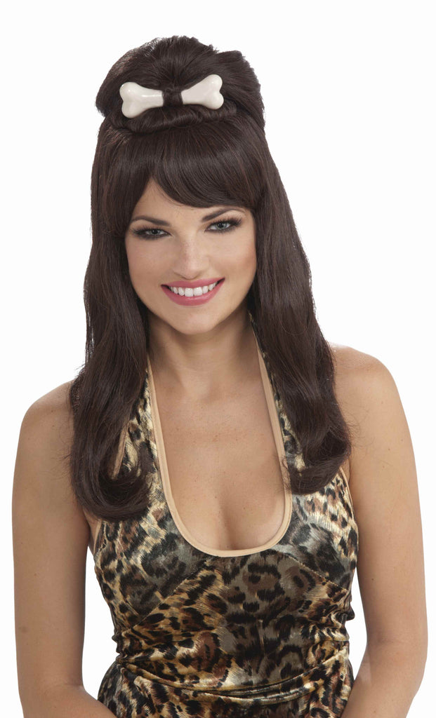 Cute Cave Girl Halloween Costume Wig