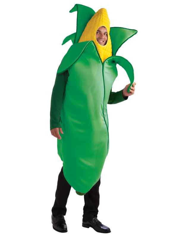 Ear of Corn Halloween Costume for Adults