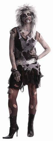 Women's Zombie Rocker Woman Costume