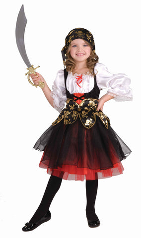 Pirate's Treasure Halloween Costume for Girls
