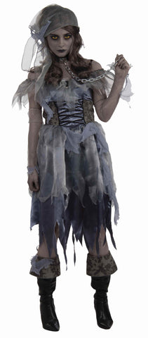 Zombie Pirate Woman Halloween Costumes