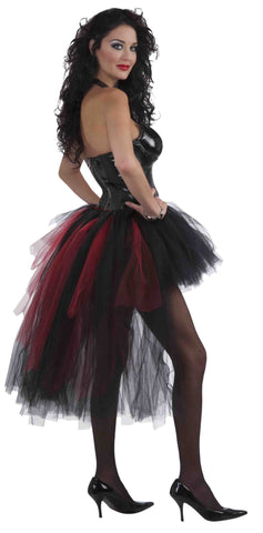 Retro Burlesque Tutu Skirt for Adults