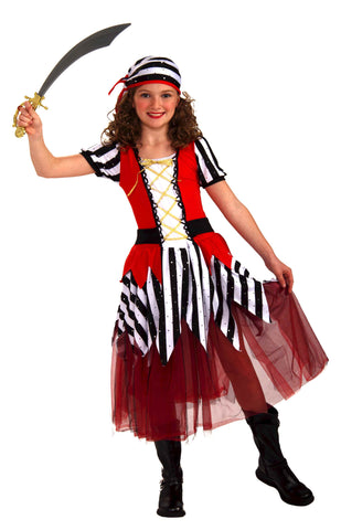 Pretty Pirate Girl Halloween Costume Child