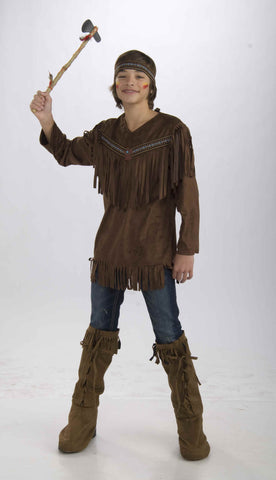 Teen Boy's Native American Brave Costume