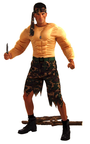 Rogue Jungle Commando Men's Costume