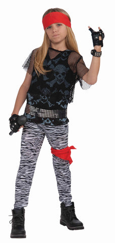 Boys 80's Rock Star Costume