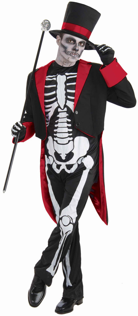 Halloween Costumes Formal Skeleton Adult Costume