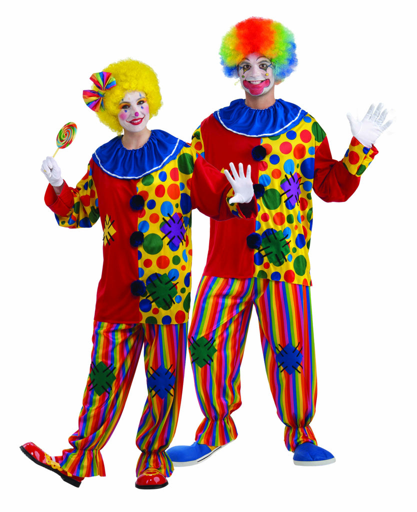 Halloween Clown Costume for Adults