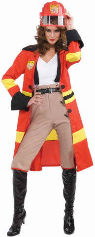 Women's Fire Fighter Halloween Costume