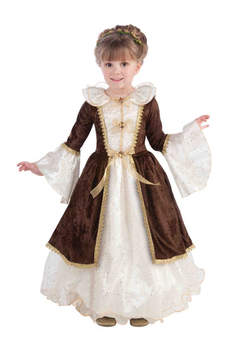 Girls Pretty Maiden Costume