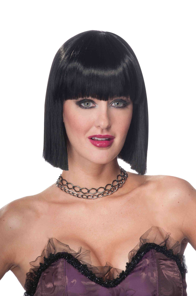 Women's Halloween Vib Wig Black