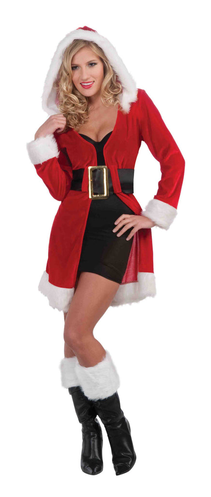 Miss Christmas Costume Coat Hooded