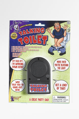 Gag Talking Toilet Device