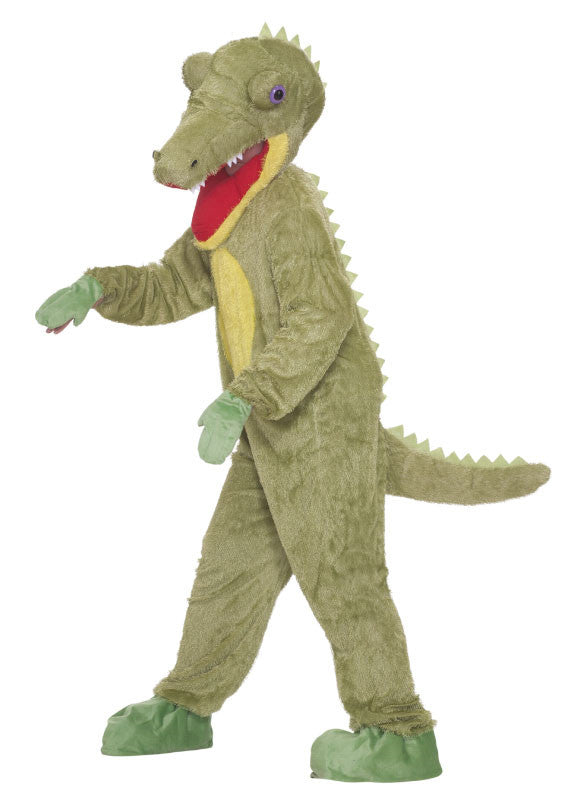 Deluxe Crocodile Adult Plush Costume