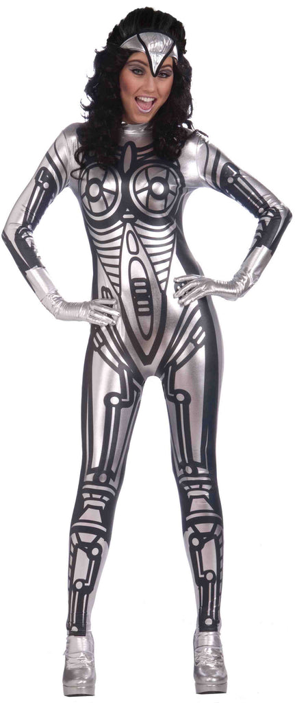 Robot Costumes Female Adult Robot Costume