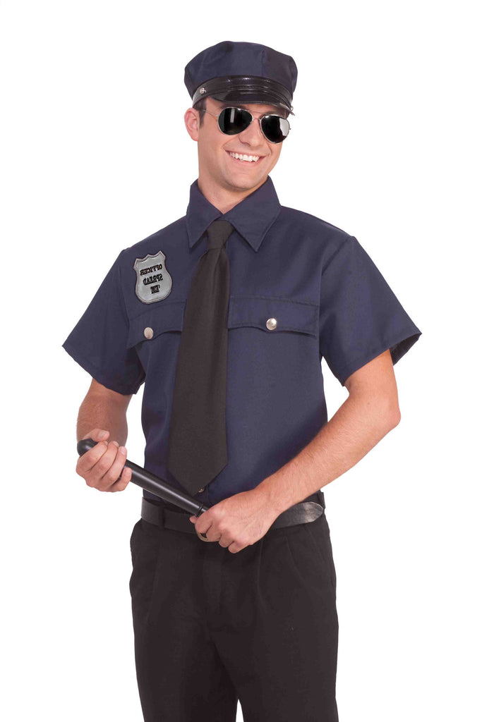 Humorous Police Costume Kit for Adults