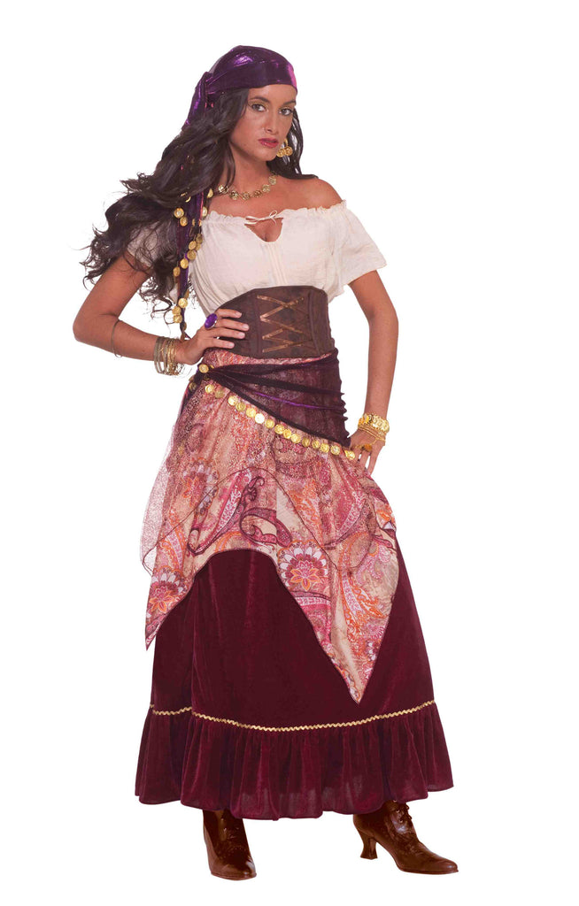 Gypsy Fortune Teller Adult Halloween Costume