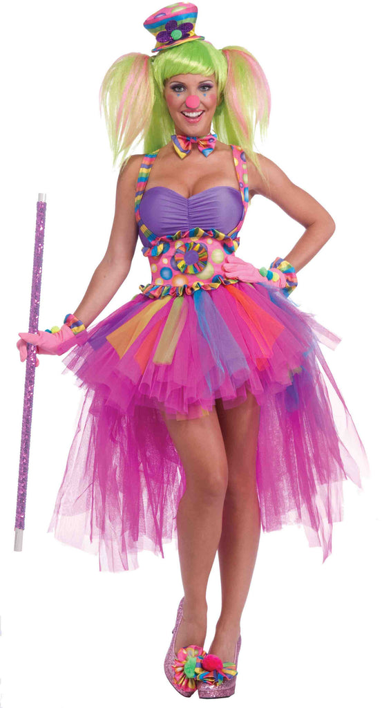 Pretty Clown Lady Halloween Costume Lulu