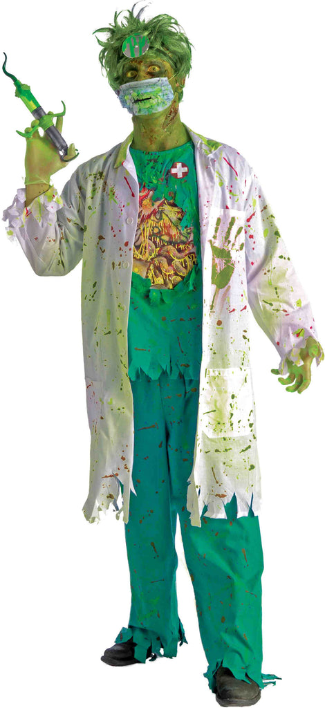 Zombie Costumes Zombie Surgeon Costume Adult