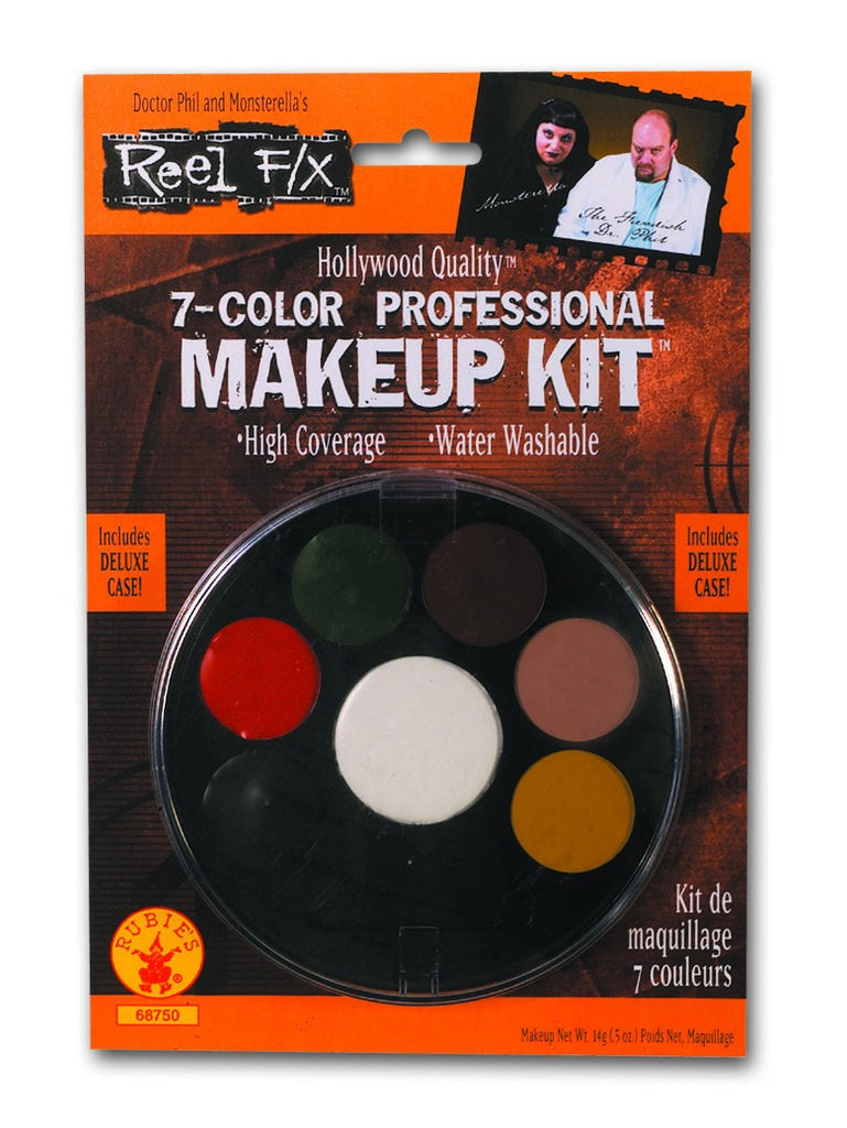 7-Color Reel F/X Professional Makeup Kit
