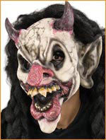 Reel F/X Demonic Jester Latex Prosthetic