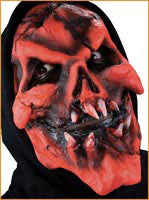 Reel F/X Demon Burning Skull Prosthetic