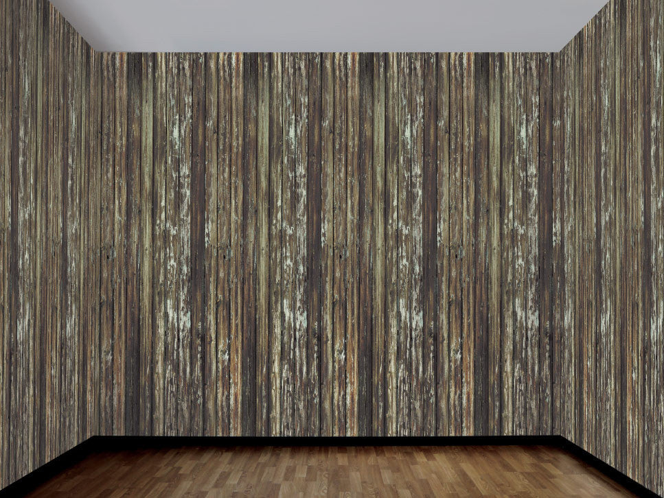 Haunted House-Rotted Wood Wall