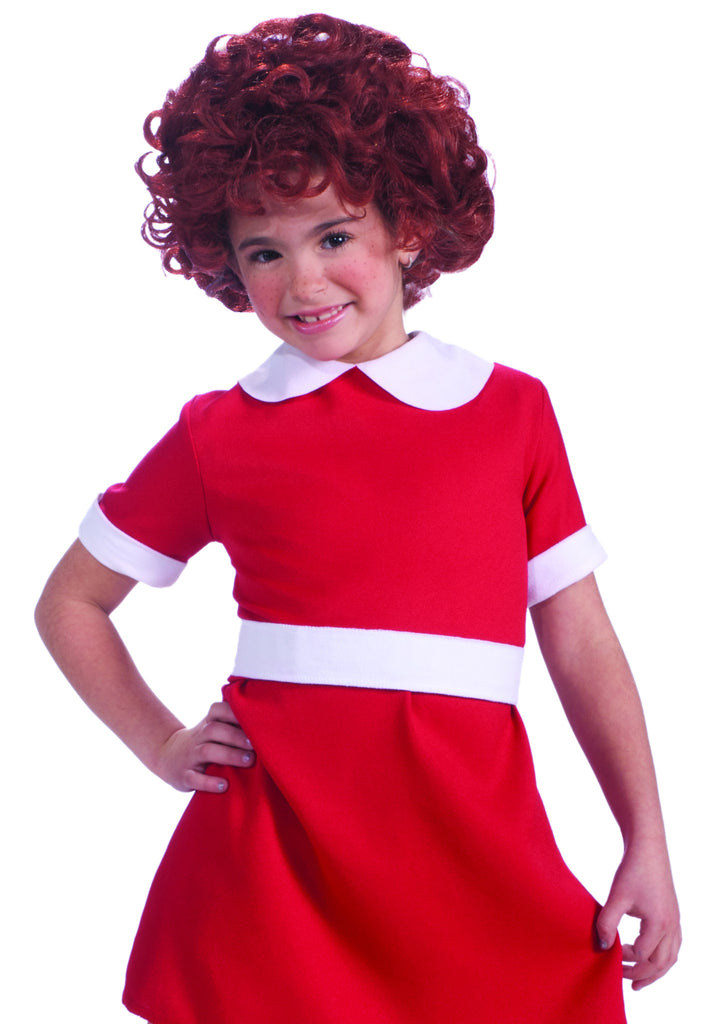 Little Orphan Annie Costume Wigs for Children