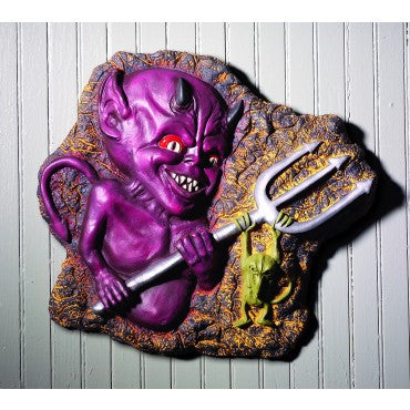 Little Devil Wall Plaque