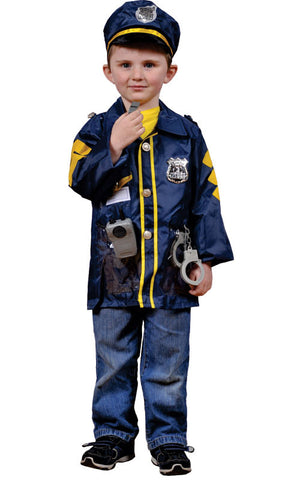 Kids Police Officer Dress Up Set