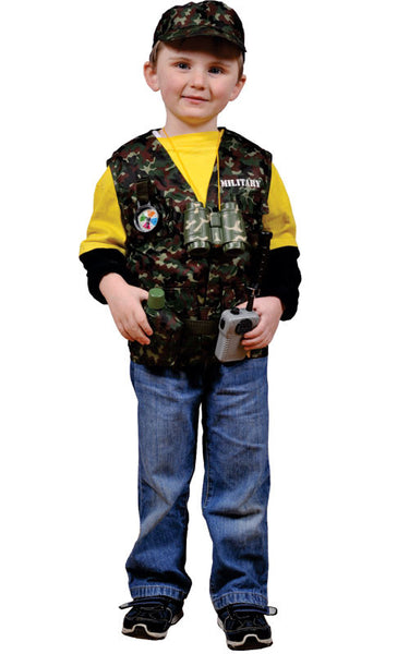 Kids Military Forces Dress Up Set