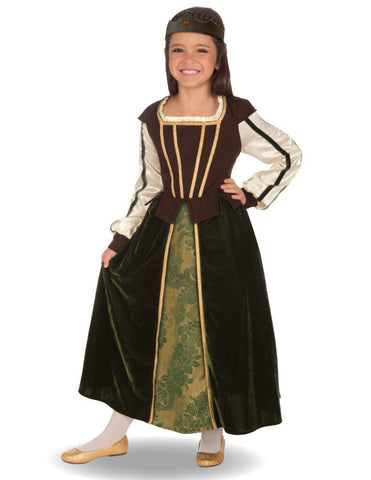 Girls Maid Marion Costume