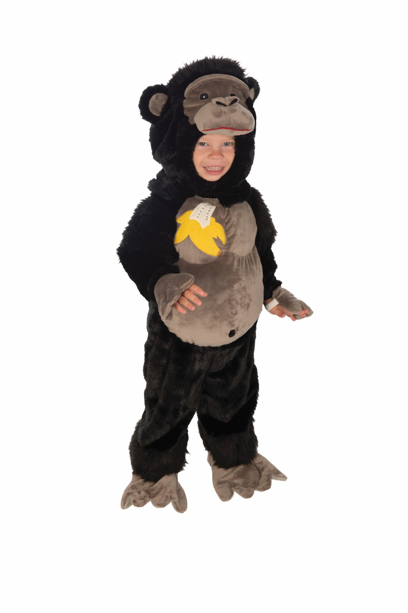 Infants/Toddlers Plush Gorilla Costume