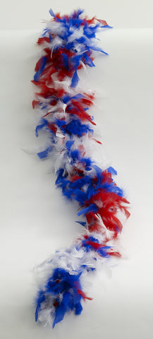 Red White & Blue Boa