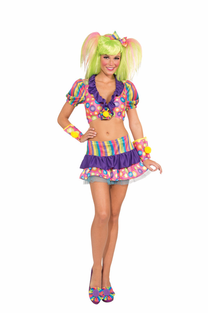 Shrug & Skirt Set-Clown