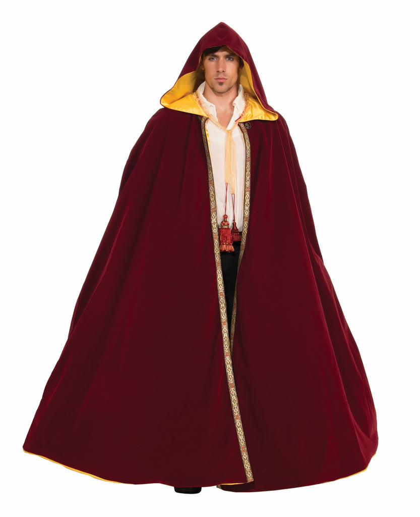 Hooded Autumn Cape